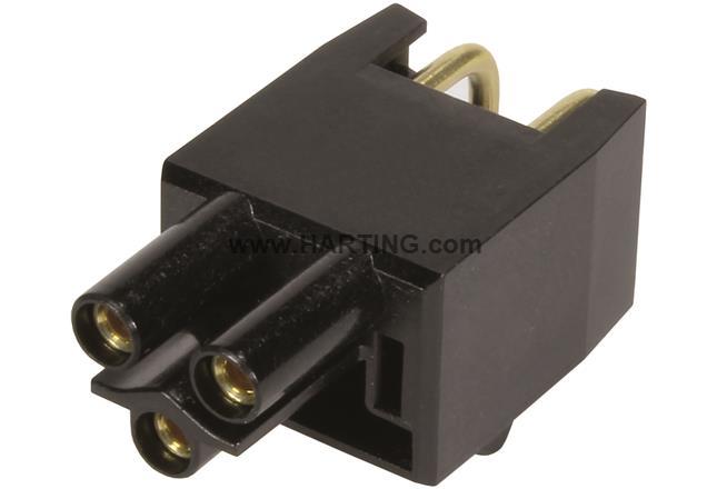 HPP V4 Power insert THT 250V/16A 3p 90°