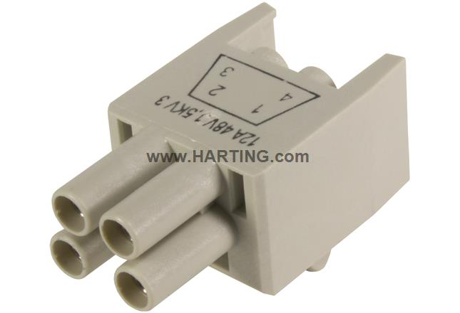 HPP V4 Power insert crimp 48V/12A 4p