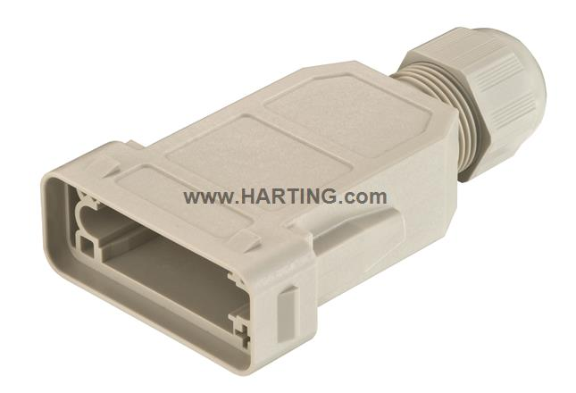 Han-Modular ECO coupler IP65, PE version