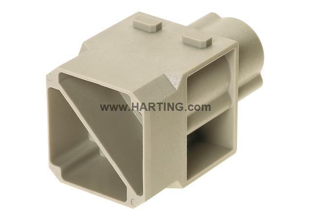 Han 100A crimp module, male