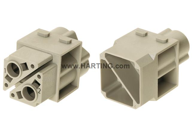 Han 100A crimp module, female