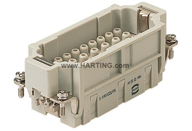 Han 32EE CRIMP TERM INSERT MALE