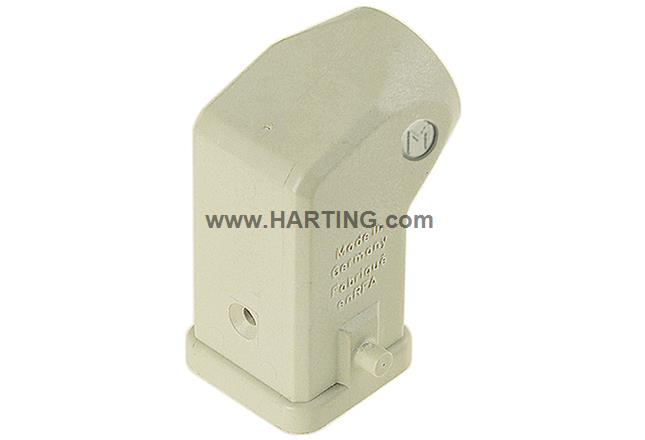 Han A Hood Angled Entry 2 Pegs M20