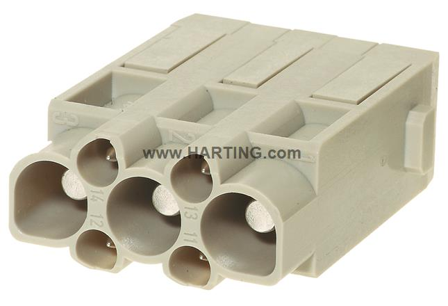 Han CD module, crimp male