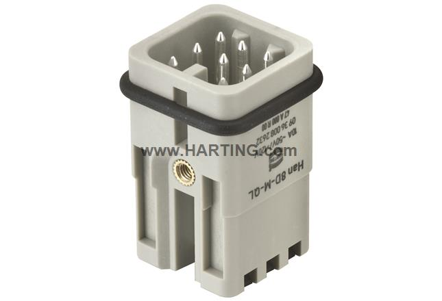 Han 8D-M Quick Lock 1,5mm²
