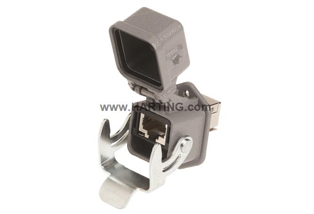 Han3A RJ45 10G Cat6 PFT 8p with cover