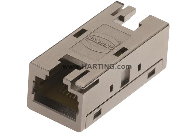 RJI RJ45 10G Cat6, 8p IP20 coupler
