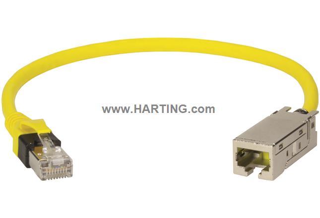 RJI RJ45 PFT cable plug-jack Cat6; 0,15m