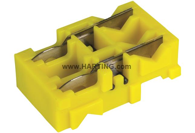 RJI yellow knife box for stripping tool