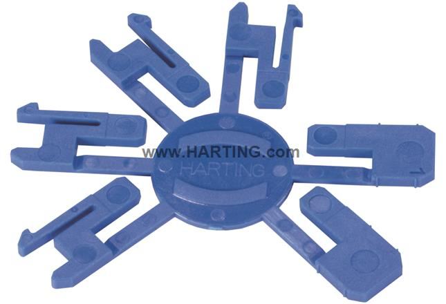 Han3A RJ45 coding key set (5 sets)