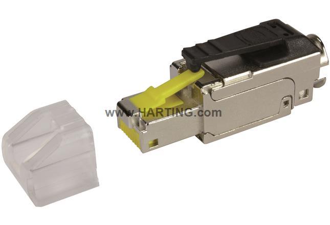 RJI RJ45 plug cover transparent