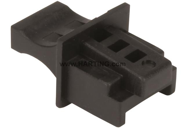 RJI RJ45 jack cover black (100pcs)