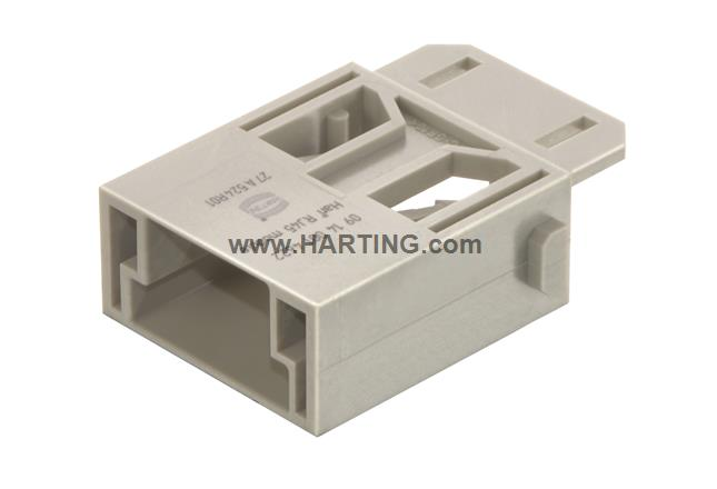 Han RJ45 module, male for plugs