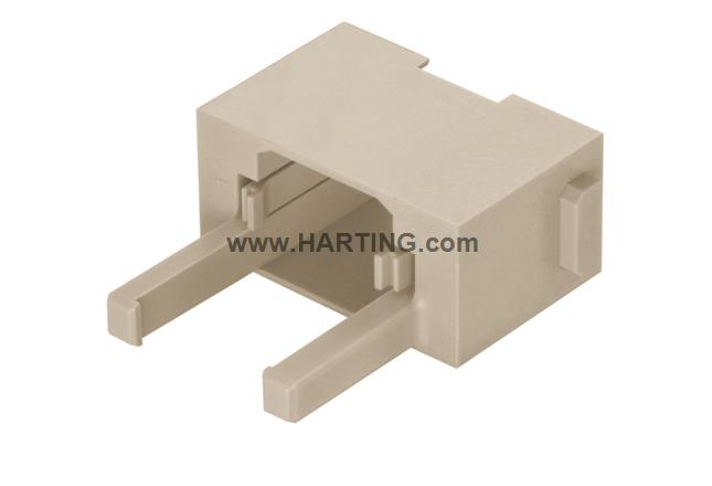 Han RJ45 module panel feed through, fem.