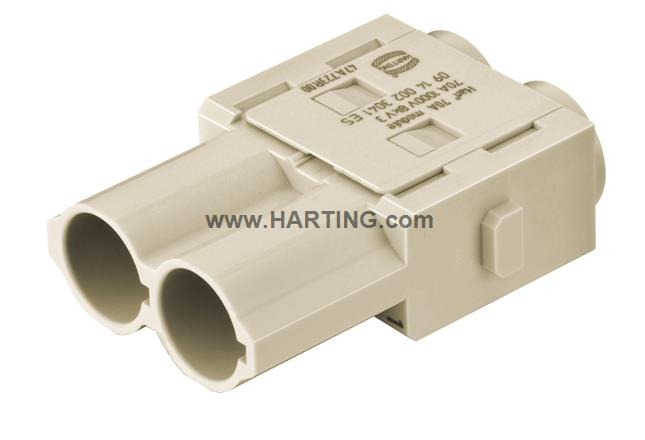 Han 70A crimp module, male