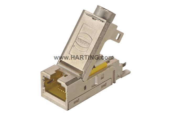 Han-Mod RJ45 IDC cable jack 4P AWG 24-22