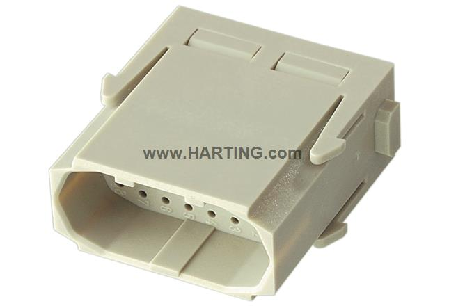 Han High Density module, crimp male