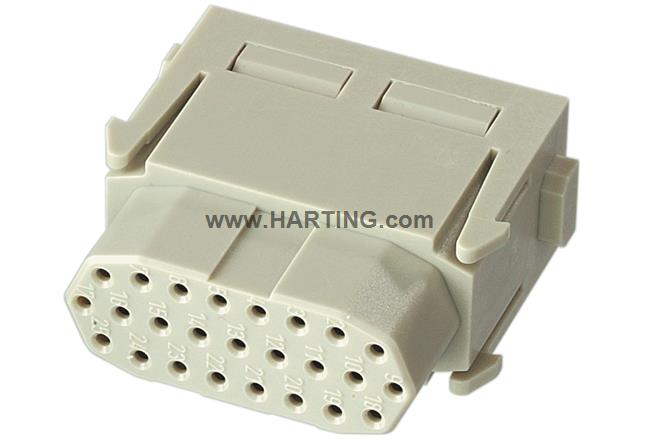 Han High Density module, crimp female