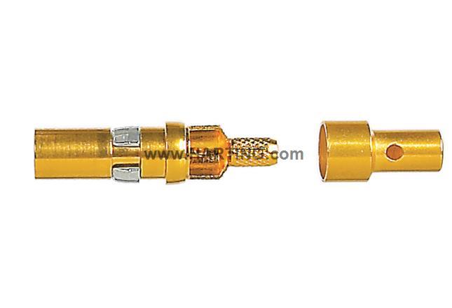 DIN-Signal coax m, solder/crimp 50Ohm