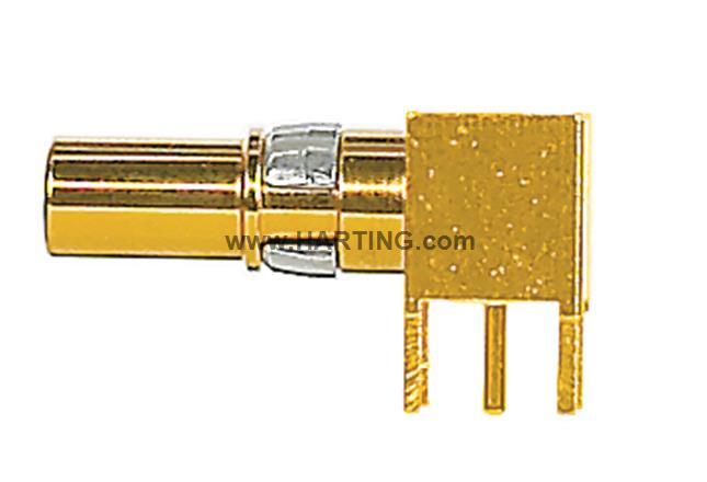 DIN-Signal coax f, pcb-solder, 50Ohm