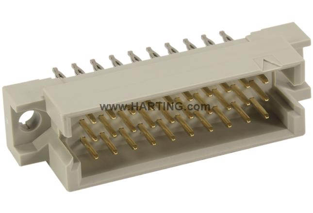 DIN Signal type 3R male press-in 5mm 30-