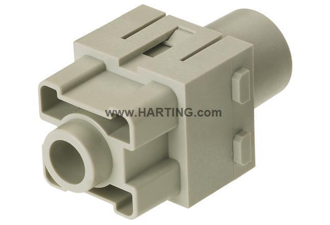 Han 200A axial module, female 25-40 mm²