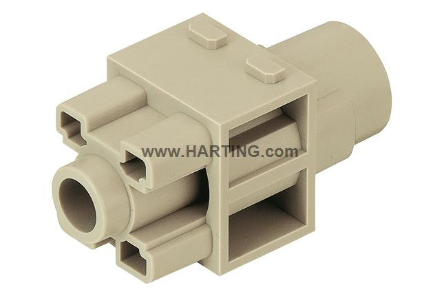 Han 200A crimp module, female