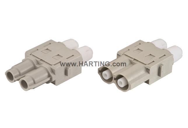 Han HV single module, 16A 2500V male