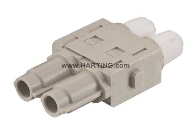 Han HV single module, 16A 2500V male