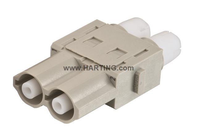 Han HV single module, 16A 2500V female