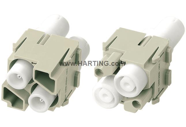 Han HV module, 16A 5000V male
