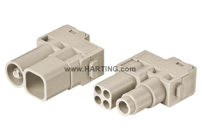 Han 70A Hybrid module, female 14-22mm²