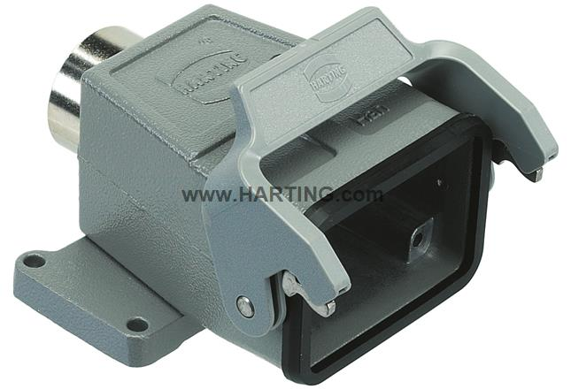 Han 6B-gs-ZV-16 with mounting flange