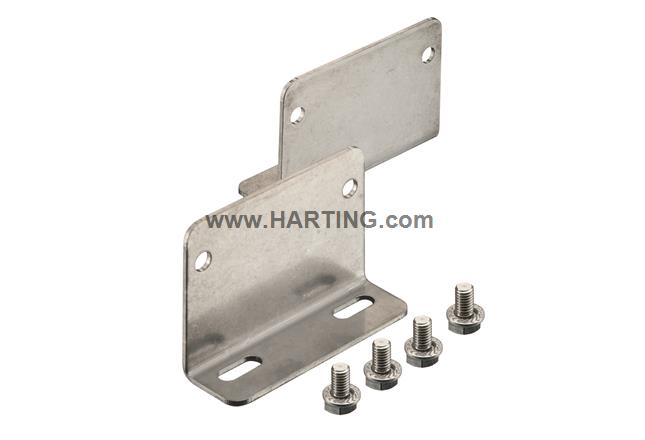 Han 24 HPR EasyCon Mounting Panel Short