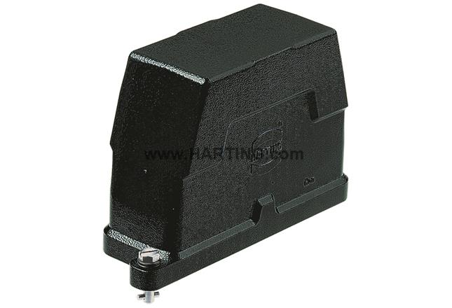 Han 10HPR-HSE-Pg21-Screw lock