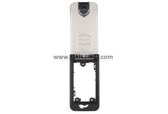 Han-Port single frame, plastic