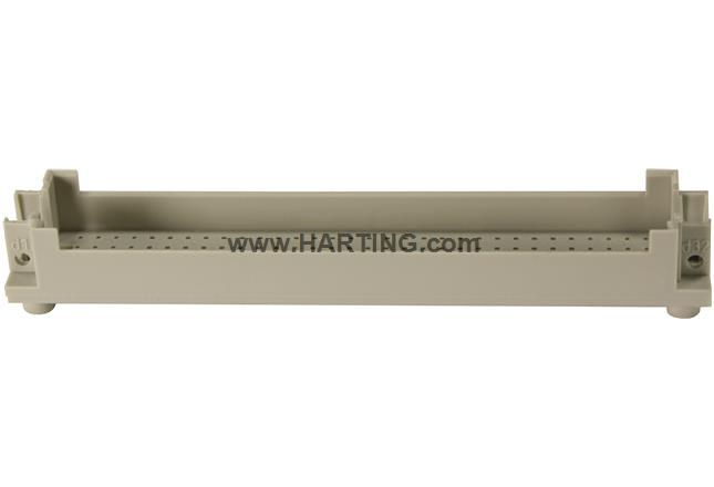 DIN-Signal harbus64 shroud f. pcb 6,4