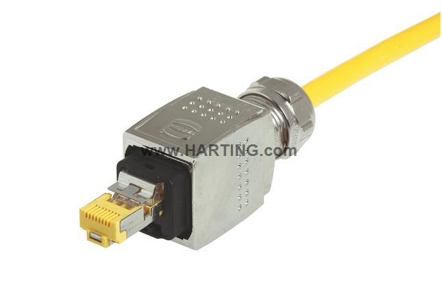 Han PP RJ45 10G metal plug set