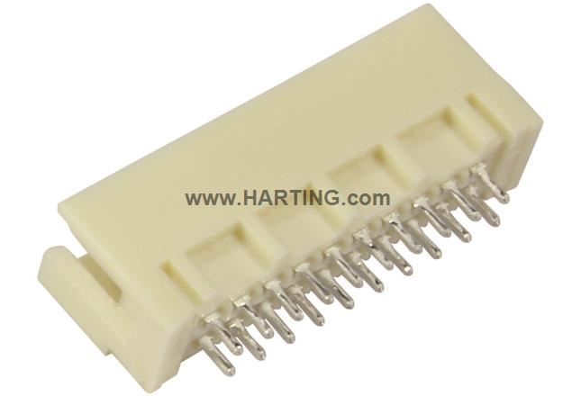 DIN Signal type 3Q male solder 2.5mm SMC