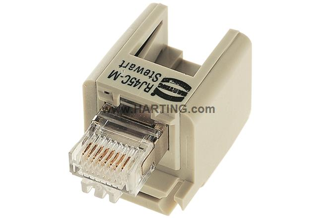 Han Brid-RJ45-Male insulation body