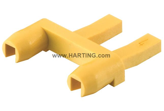 Harting Han-Modular Series Compact Housings Connector Accessory Coding Element