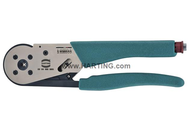 Four-Indent Crimping Tool