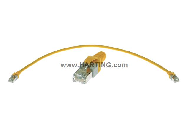 RJ45 overmolded patch cable Cat 5e 10m