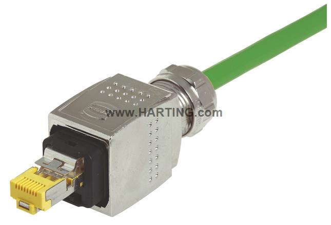RJ Industrial cable assembly