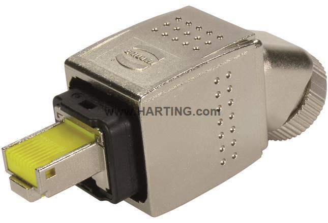 HanPP V14 preLink RJ45 plug 8p met 45°