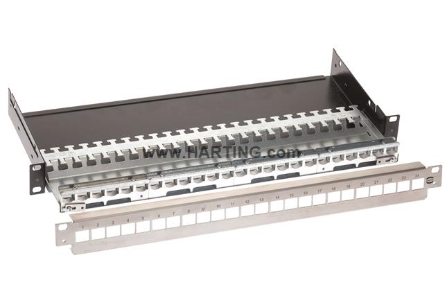 "preLink 19"" Patch panel HIFF"