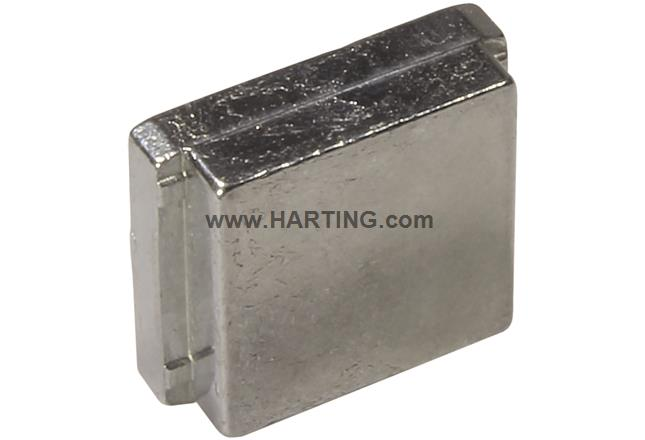 Blanking piece for metal hood 9-37 poles