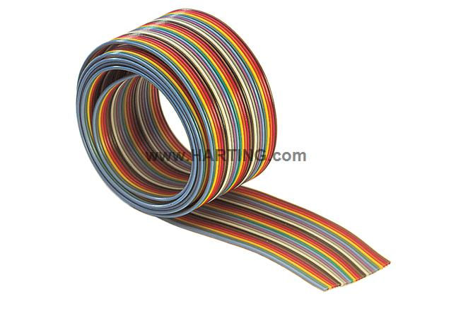 SEK CABLE PLANO COLOR AWG28/7 10P 30,48m