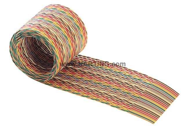 SEK C PLANO COLOR TWP AWG28/7 10P 30,48m