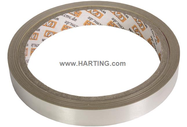 RJI tinned copper tape; 12mm, reel 10m